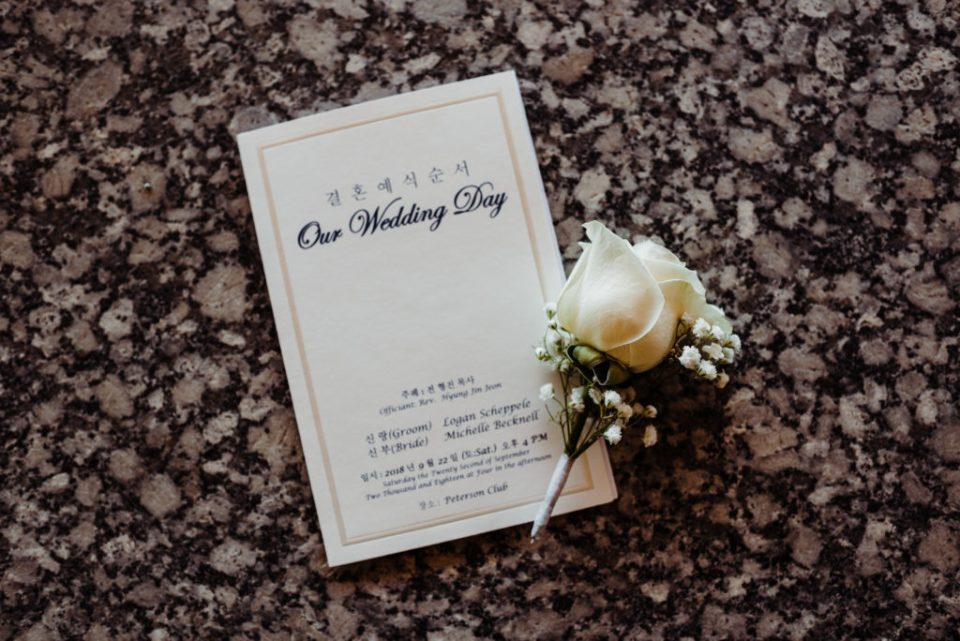 wedding invitations with babies breath