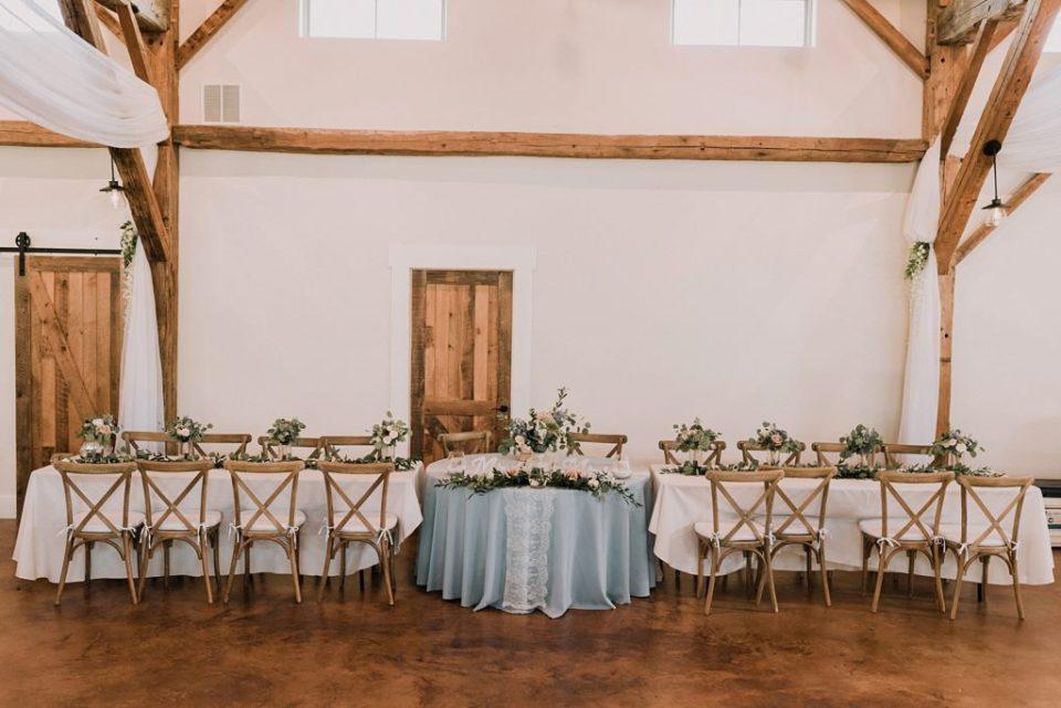 reception details at deerfield estates