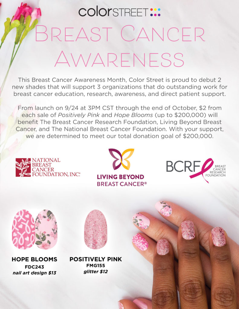 Color Street Breast Cancer Awareness Sets