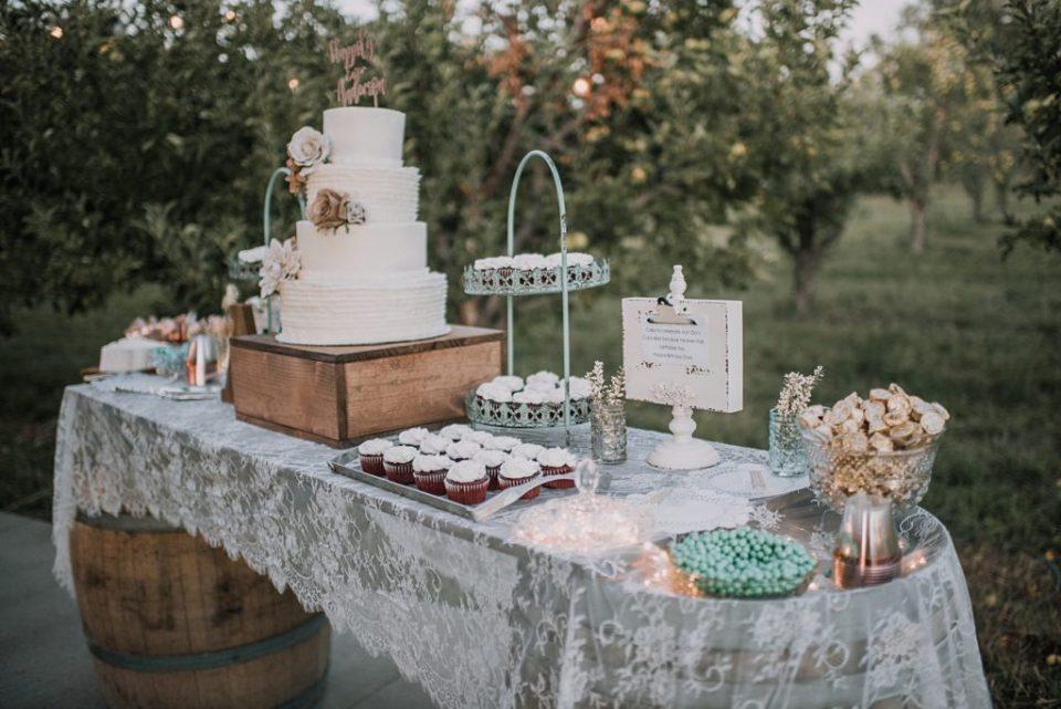 lace dessert bar