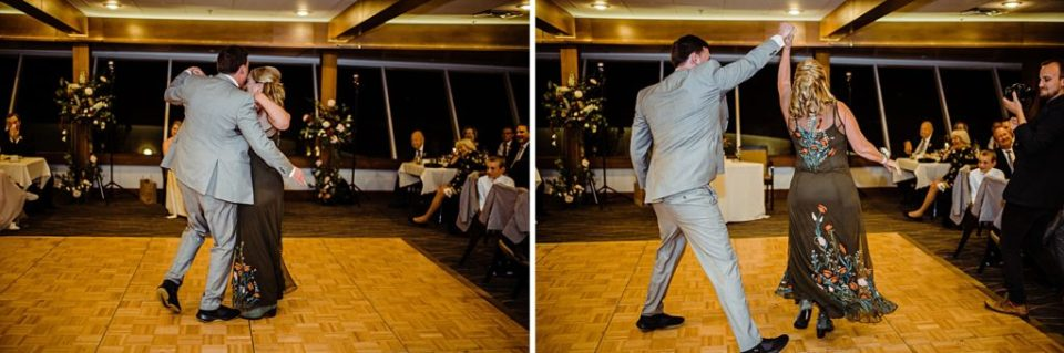 mother son dance photos at mt vernon country club wedding