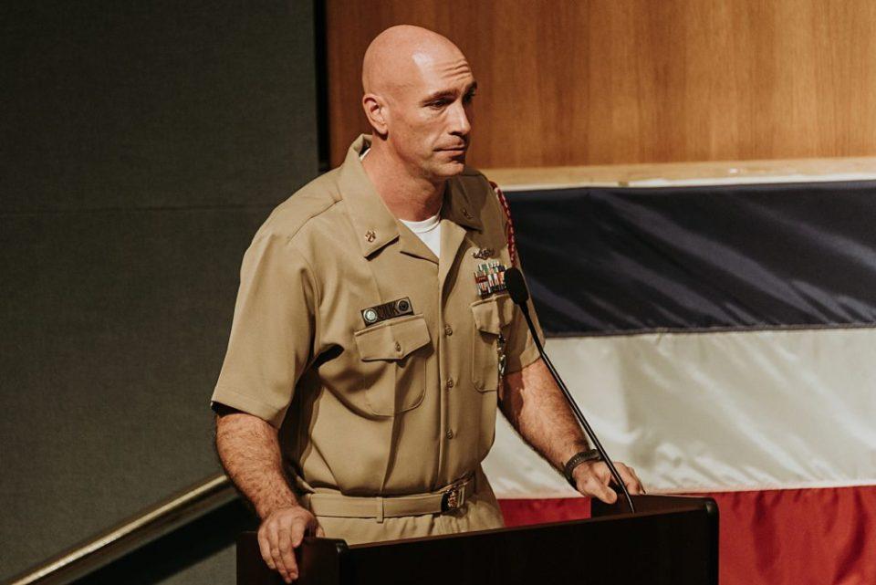 navy chief retirement