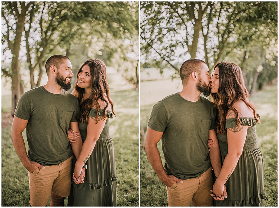 couples photos at white river county park