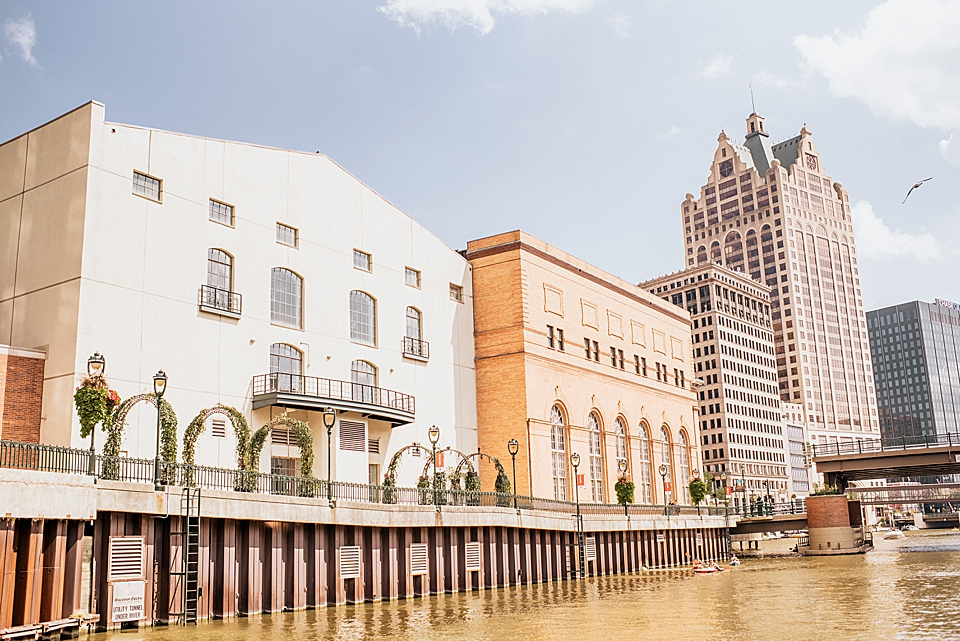 river front buildings on milwaukee river