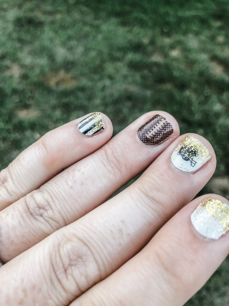 color street mixed mani for football