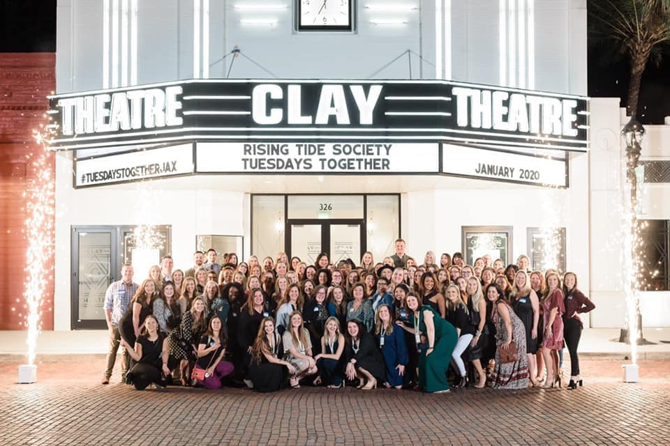 rising tide society tuesdays together jacksonville clay theater