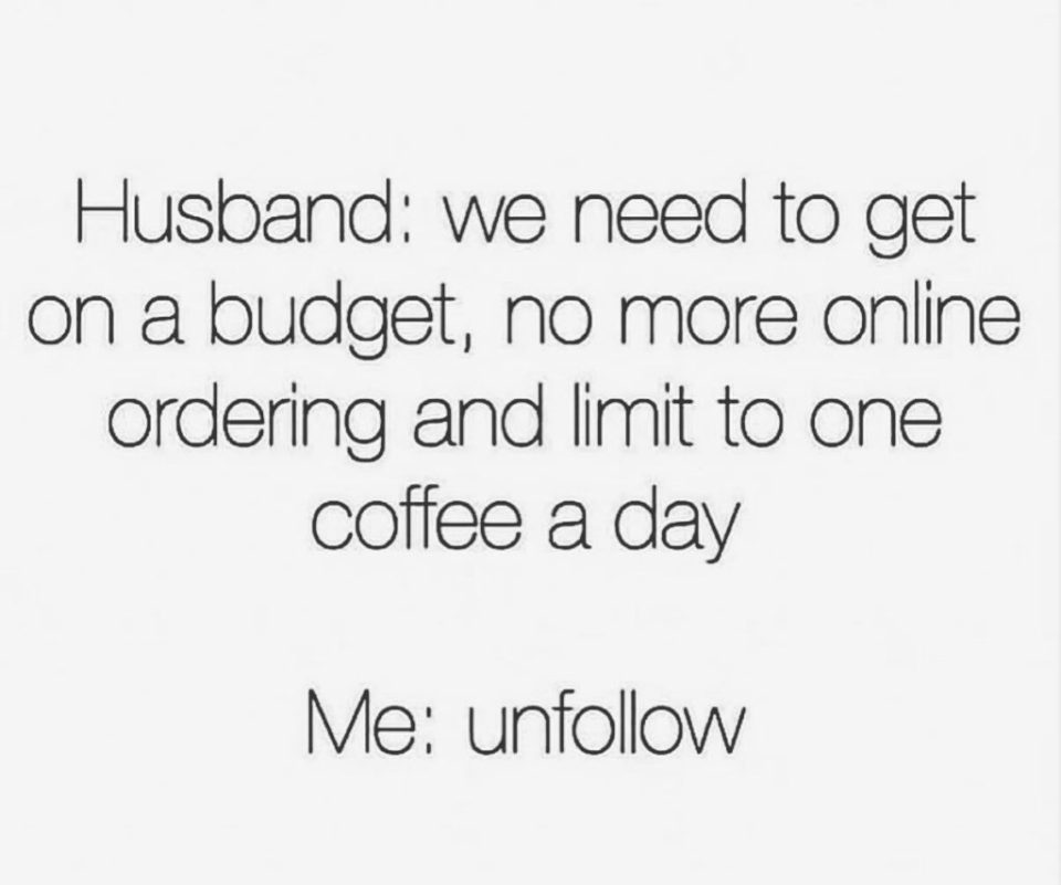 budget humor for married people