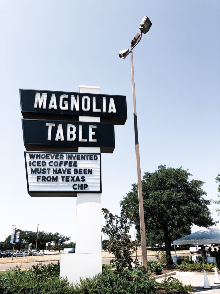 I mean, really - are you even in Waco if you don't go to either the Market or the Table?