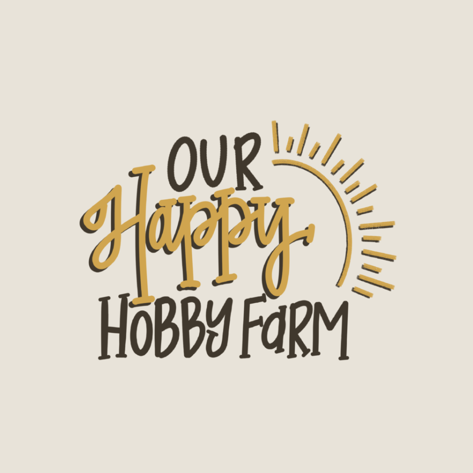 Our happy hobby farm wisconsin