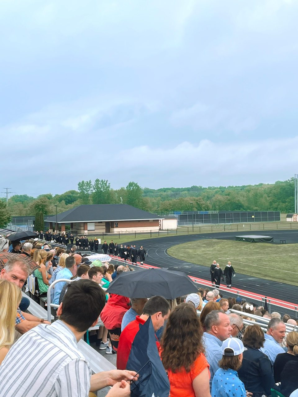 high school graduation entrance