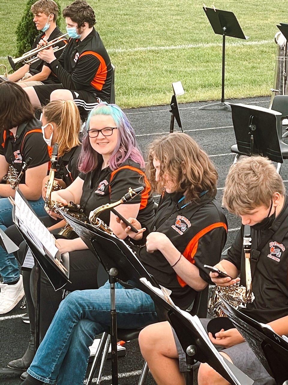 burlington high school band