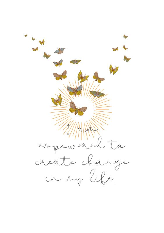 butterfly quote about change