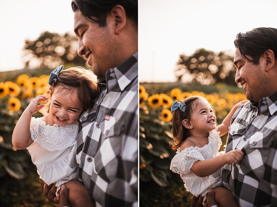 toddler girl with dad family photos