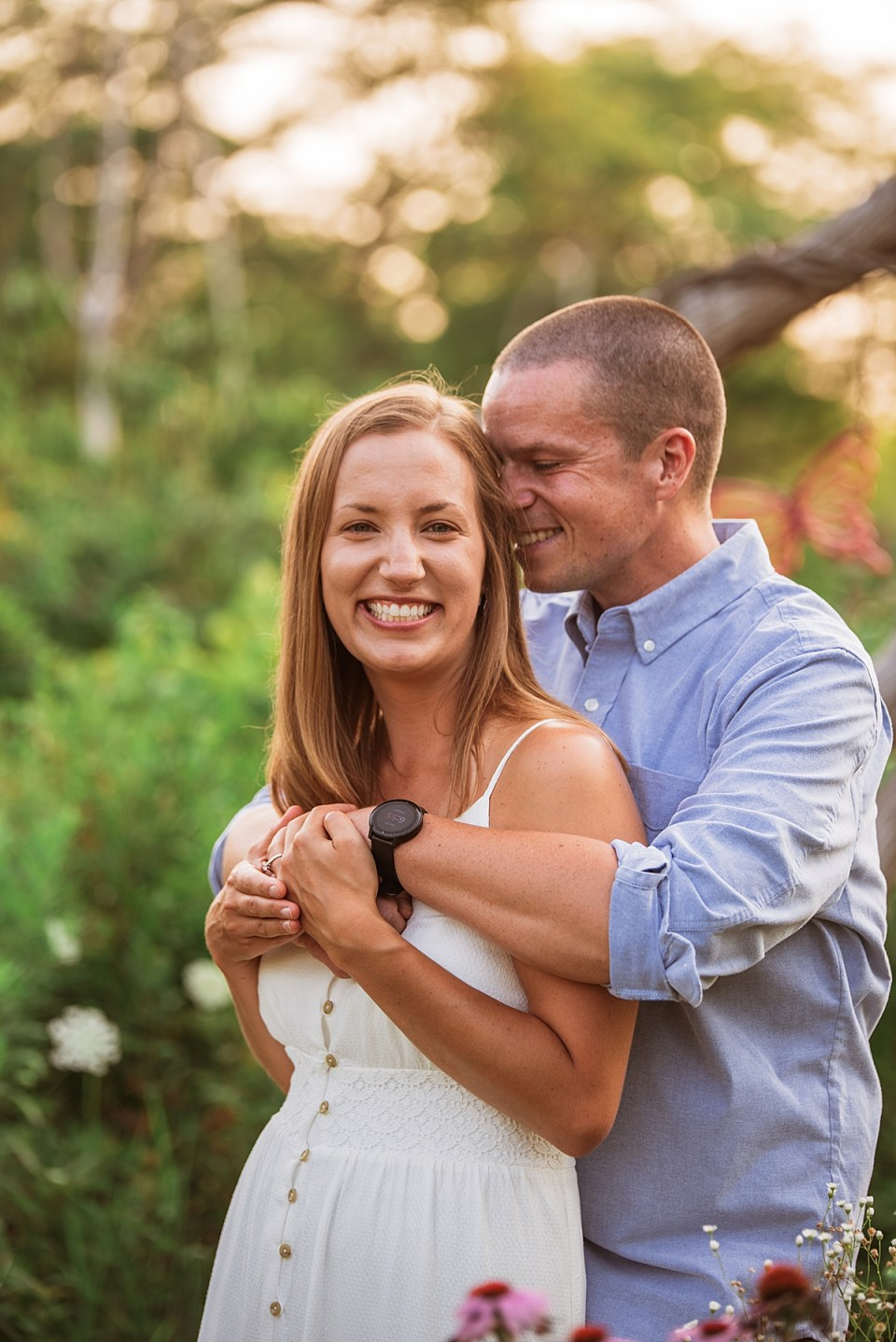 Engagement Session at Bong Recreation State Park