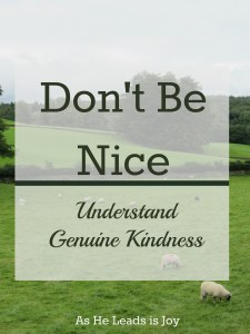 Understand Genuine Kindness