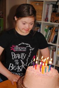 July Miss K turns 14
