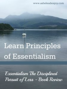 Principles of Essentialism