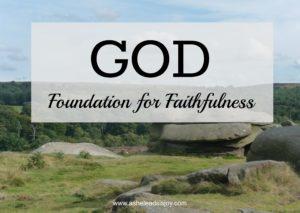 Foundation for Faithfulness