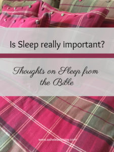 is sleep important