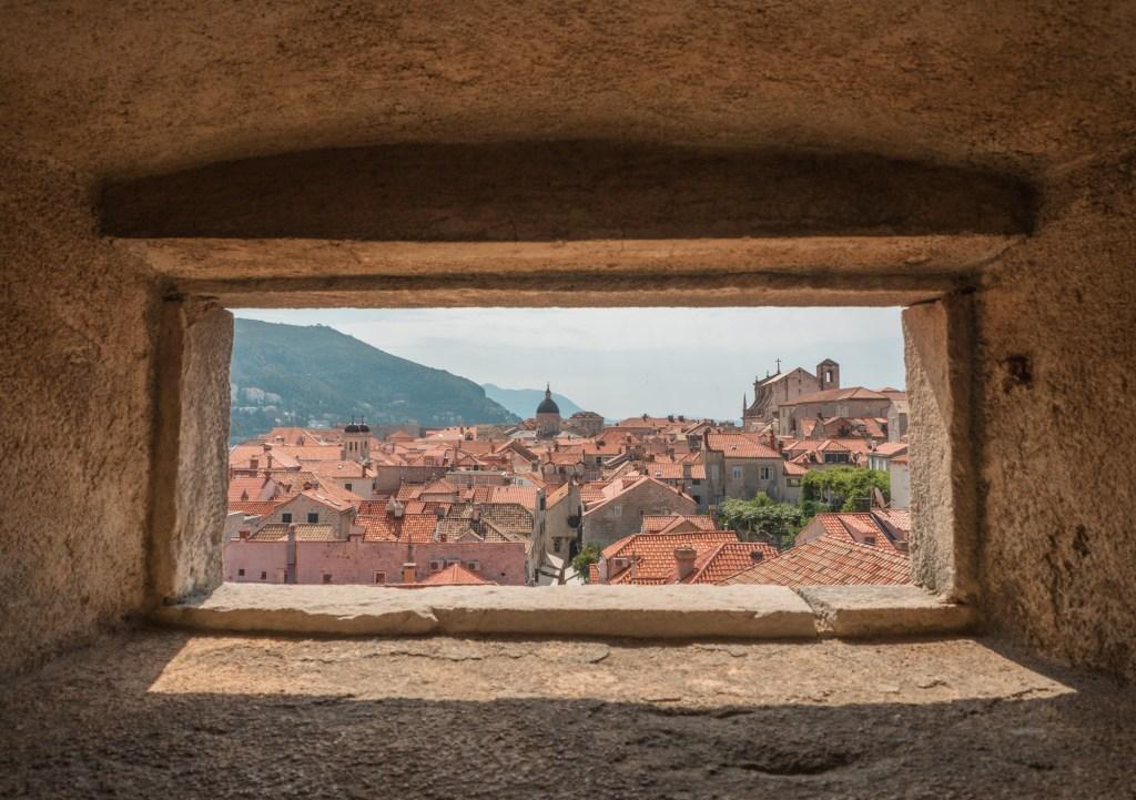 Through the windows - Dubrovnik