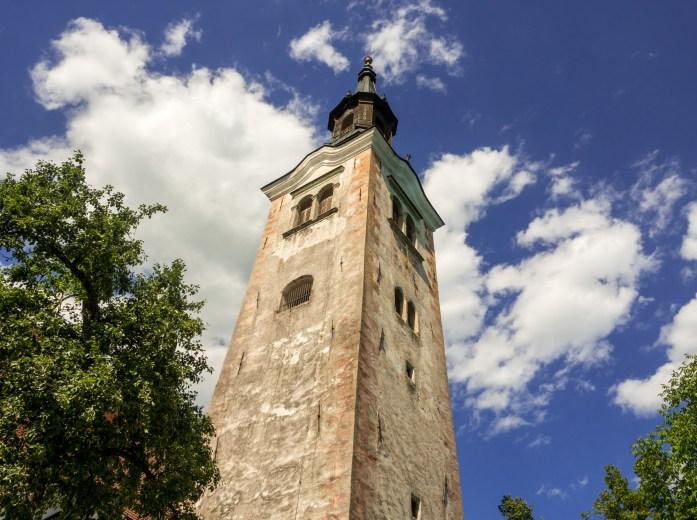 Lake Bled Church, Slovenia