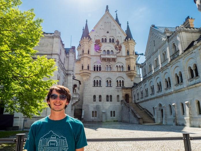 James and Neuschwanstein Castle
