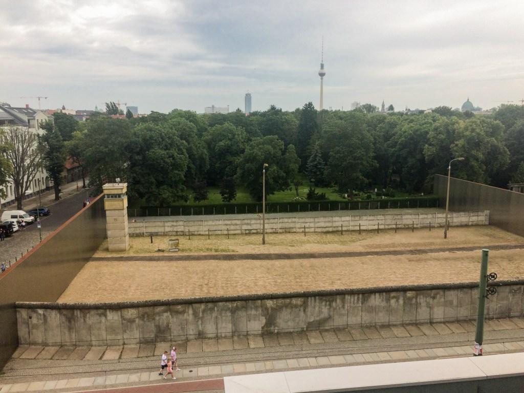Berlin - Bernauer Strasse
