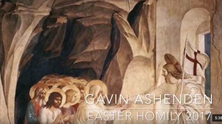 Easter homily 2017 image
