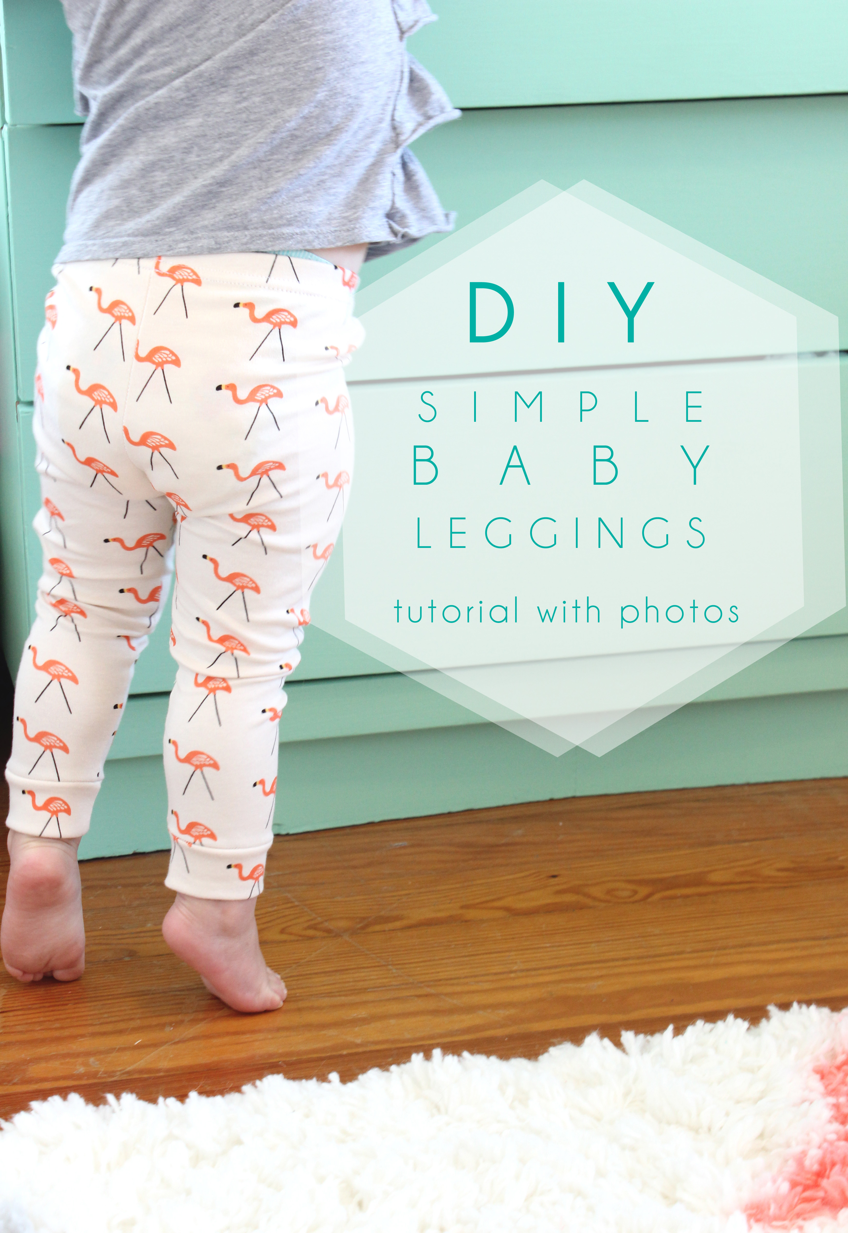 6 to 9months Homemade baby leggings