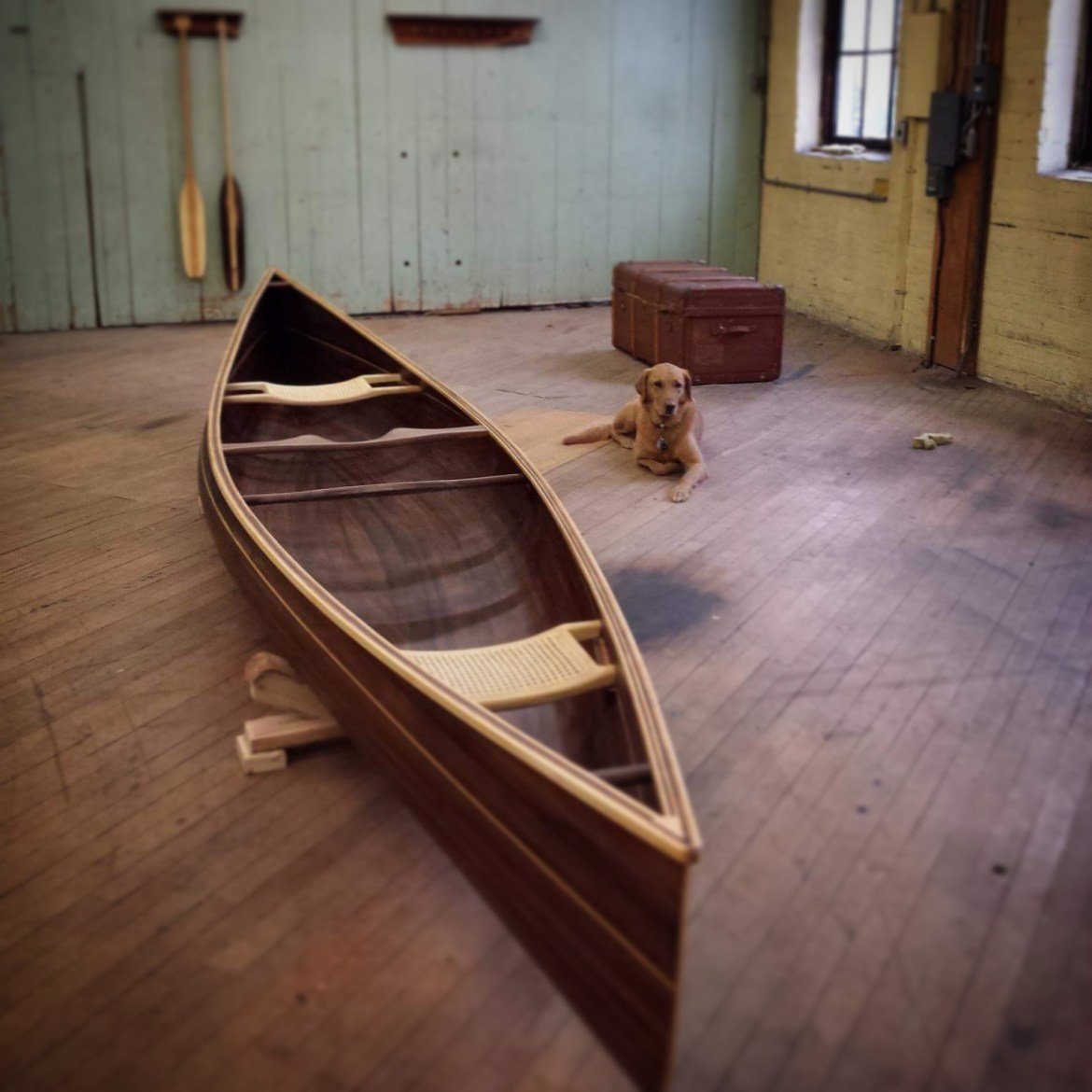 Tandem Day - Wooden Canoe