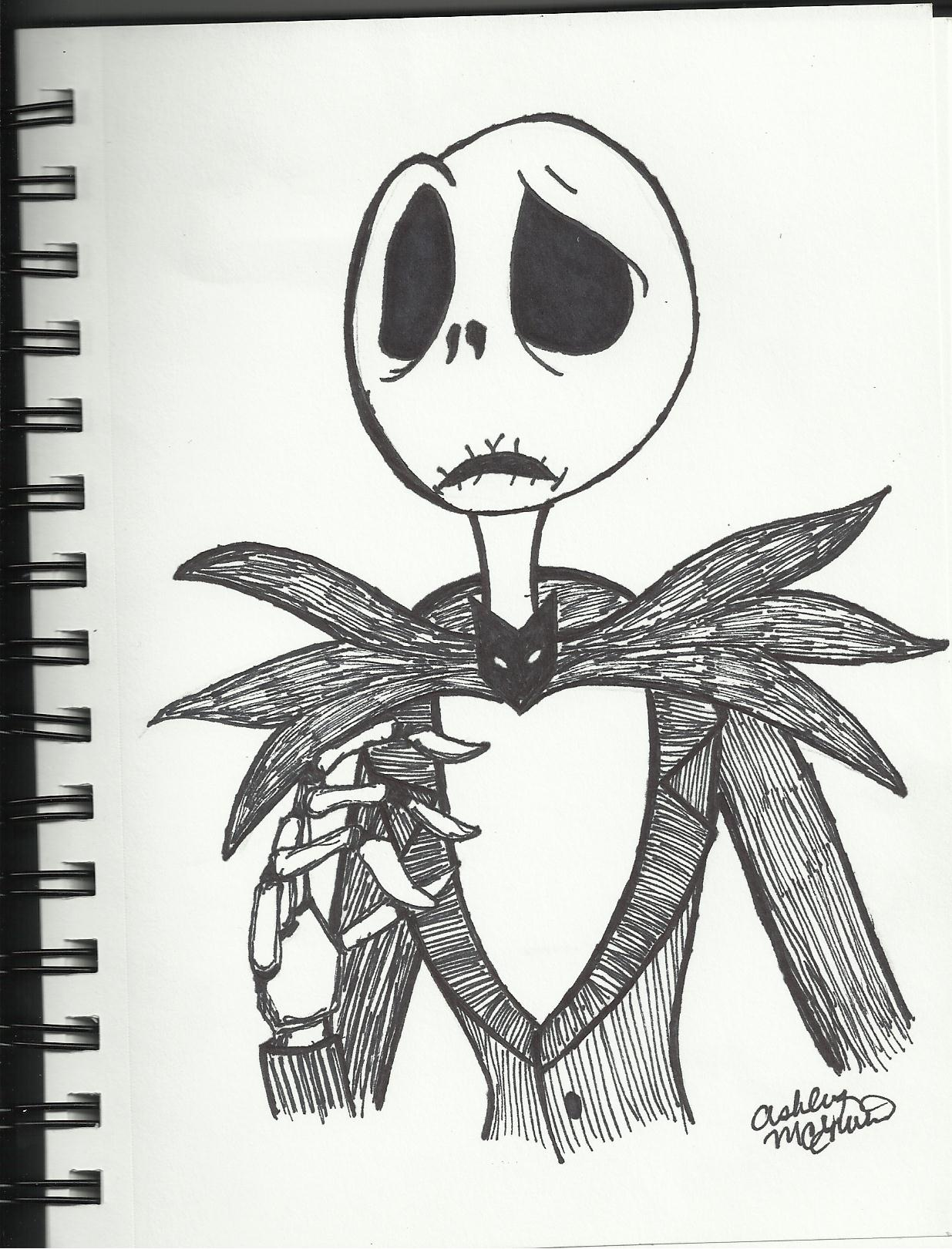 Nightmare Before Christmas Drawings