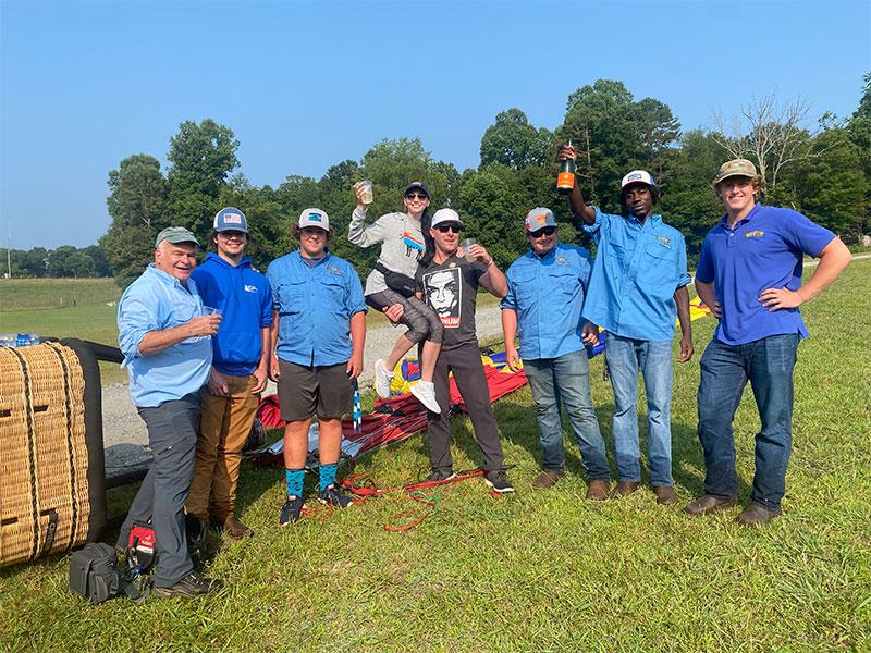 Asheville Balloon Company - Ground Crew