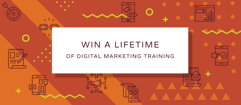 Lifetime of Digital Training Giveaway from JB Media