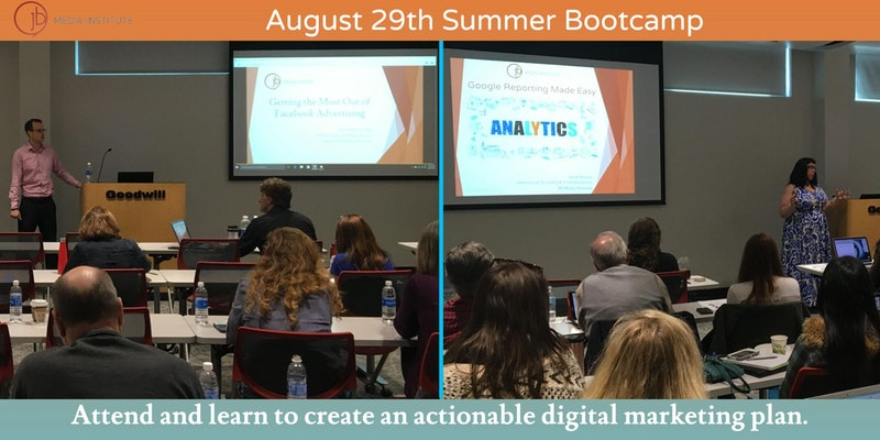JB Media Summer Digital Marketing Bootcamp