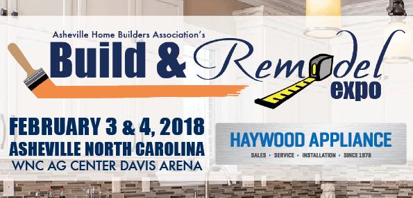 Asheville HBA Announces Title Sponsor of the 2018 Build & Remodel Expo