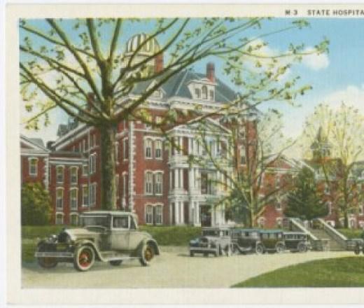 North Carolina State Hospital in Morganton