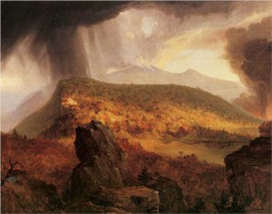 Thomas Cole (1801-1848), The Catskill Mountain House: Four Elements (1843-44).