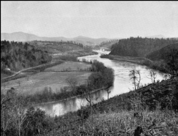 French Broad River above Asheville. North Carolina State Archives.