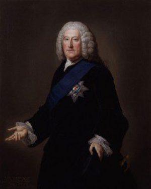 Portrait of John Carteret, 2nd Earl Granville by William Hoare, ca. 1750-1752. Wikimedia Commons via NCpedia.