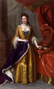 Queen Anne. Michael Dahl, 1705. National Portrait Gallery NPG6187. Used by permission.