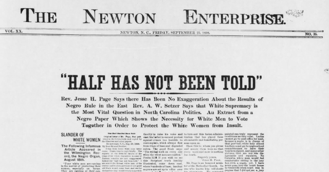 Newton Daily Record, September 23, 1898. Newspapers.com
