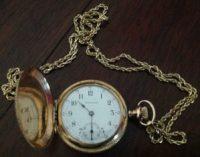 Waltham nurse's watch, ca. 1895. Courtesy of Jean Johnson