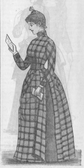 Every-Day dress. Peterson's Magazine, July-December 1888.