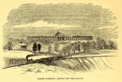 North Carolina Asylum for the Insane. North Carolina Illustrated (1857)