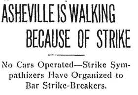 Headline from Atlanta Constitution, April 29, 1913