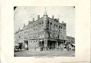National Bank of Asheville, 1892. Harriet Sawyer, Asheville, or the Sky_Land (1892). HathiTrust.