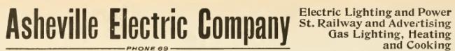 Asheville City Directory, 1906-1907