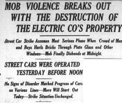 Asheville Citizen-Times, May 1, 1913.