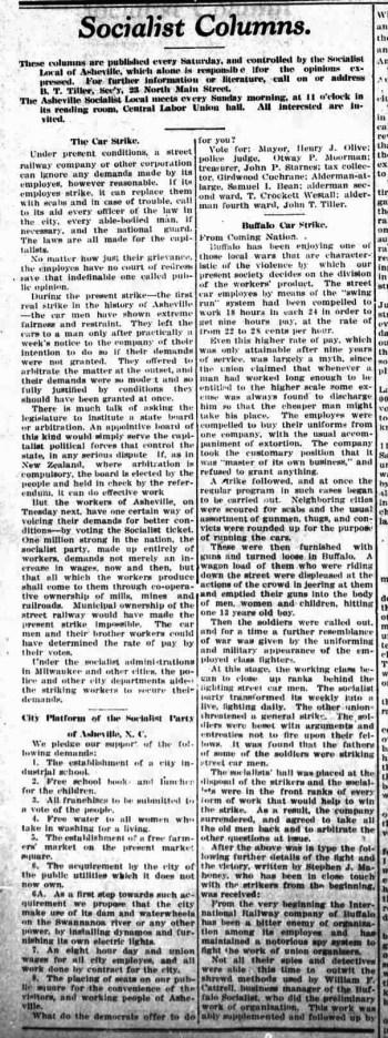 Asheville Gazette-News, May 3, 1903, p. 8.