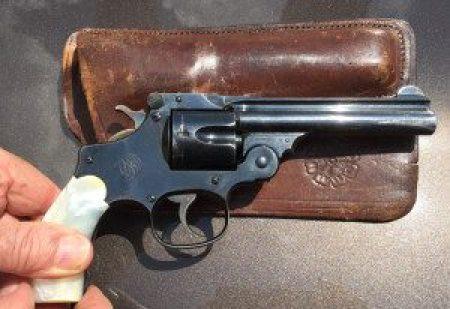 Asbury's .38 Smith & Wesson pistol
